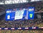 Alison's Wembley sign