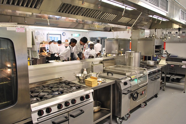 Island Suites In Temporary Kitchens Are Easy With Container Kitchen Systems  (CKS)