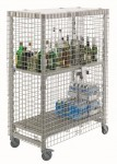 Cambro security cage for Camshelving from FEM