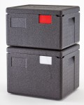 FEM's Cambro EPP Cam GoBoxes in new half sizes EPP 260 280 Boxes Stack