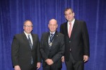 From left, NAFEM Show Chair, Kevin Fink, CESA chair Nick Oryino and NAFEM President Thomas R. Campion