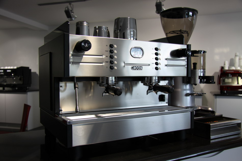 Gaggia Lcd With Md 64 Coffee Grinder