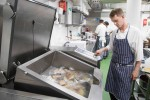 Oxo Tower head chef Jeremy Bloor using FRIMA's sous vide function
