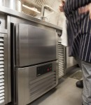 Precision undercounter blast chiller freezer