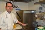 Simon Young, executive chef at the Jumeirah Carlton Tower Hotel