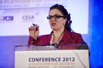 Tanya Beckett at the CESA 2012 Conference in association with the FCSI and BHA