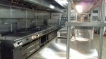 The kitchen at the Renaissance Carambola Beach Resort