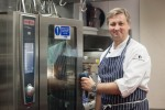 Alan Bird in the Bird of Smithfield kitchen
