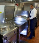 Michael Caines at Gidleigh Park with his FRIMA VarioCooking Center